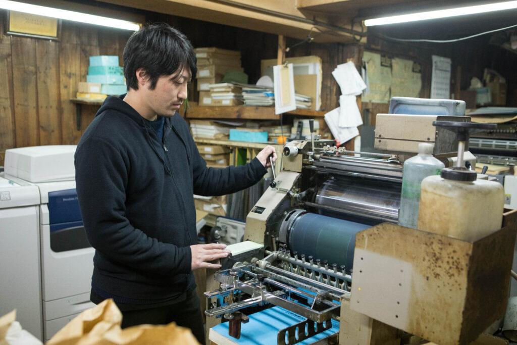 扶桑印刷社の社員
